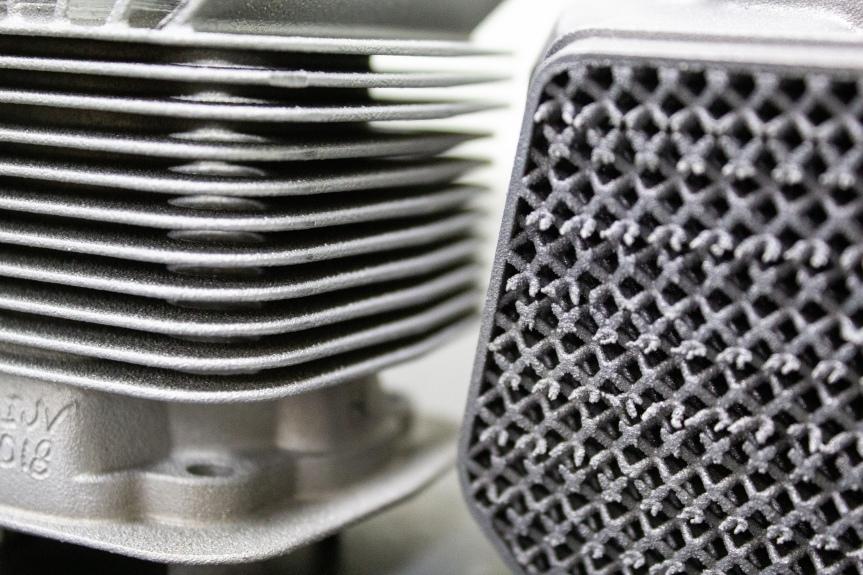 Renishaw optimising engine design with metal additivemanufacturing